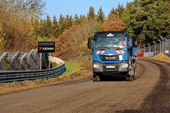 Nürburgring Nordschleife inşaat çalışmaları
