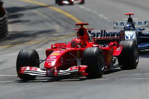 Michael Schumacher, Ferrari F2004, Juan Pablo Montoya, Williams FW26