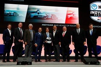 Anuncio del patrocinador NTT IndyCar 2019