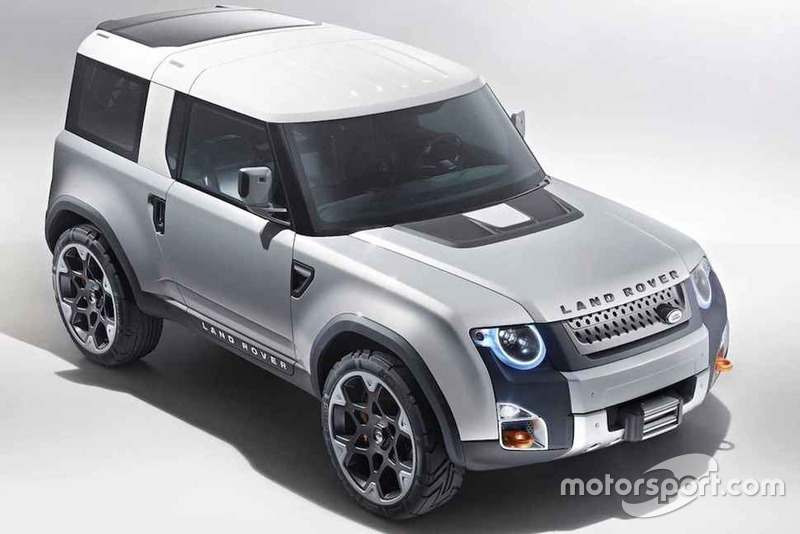 Концепт Land Rover Defender 2019