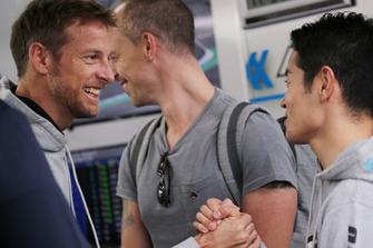 #100 RAYBRIG NSX-GT: Jenson Button, Naoki Yamamoto