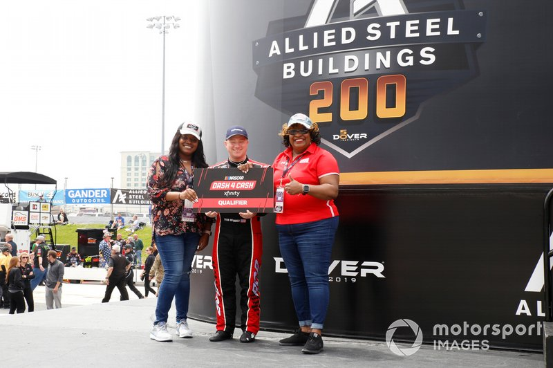 Tyler Reddick, Richard Childress Racing, Chevrolet Camaro Roland and Dash 4 Cash guest.