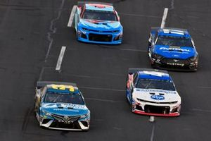 Matt DiBenedetto, Leavine Family Racing, Toyota Camry Anest Iwata, Ryan Preece, JTG Daugherty Racing, Chevrolet Camaro Kroger