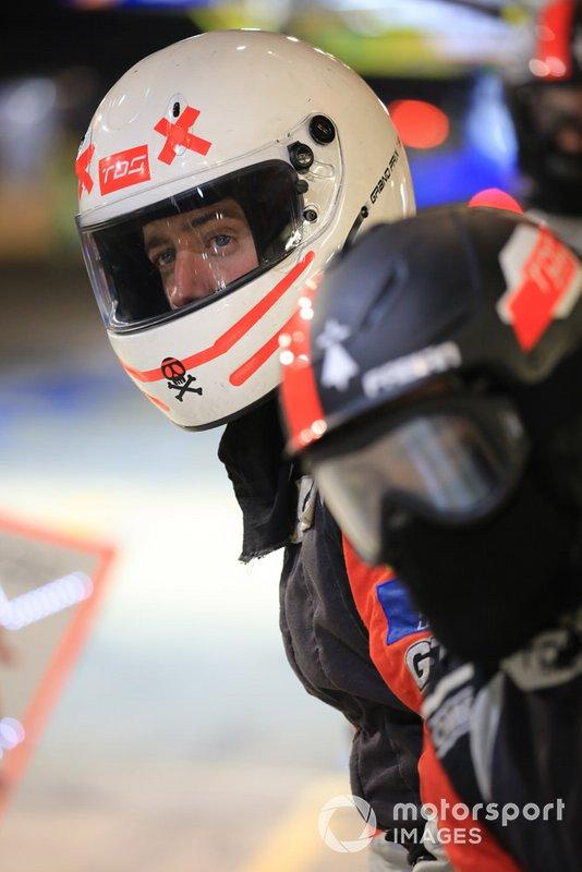 TDS Racing mechanic