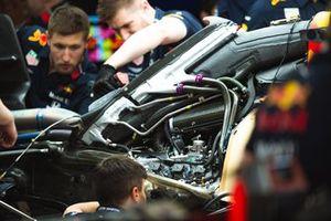Задняя часть Red Bull Racing RB15
