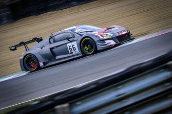 #66 Attempto Racing Audi R8 LMS GT3 2019: Kelvin van der Linde, Clemens Schmid