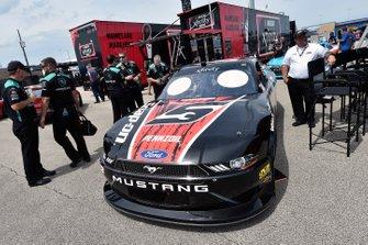 Joey Logano, Team Penske, Ford Mustang Snap on
