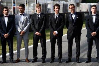 Miguel Oliveira, Red Bull KTM Tech 3, Hafizh Syahrin, Red Bull KTM Tech 3, Fabio Quartararo, Petronas Yamaha SRT, Franco Morbidelli, Petronas Yamaha SRT, Valentino Rossi, Yamaha Factory Racing, Maverick Vinales, Yamaha Factory Racing