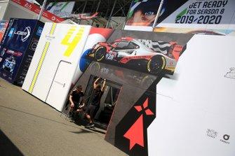 TDS Racing paddock