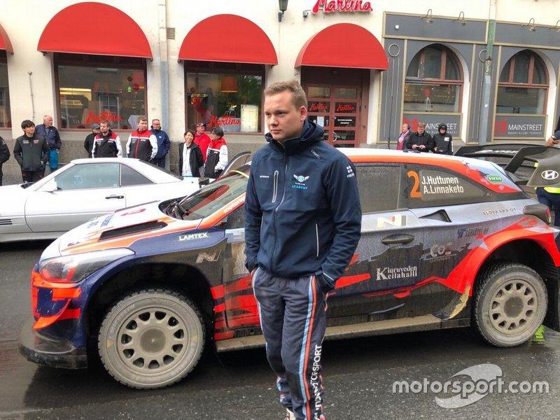 Jari Huttunen, Hyundai i20 Coupe WRC Pohjanmaa Ralli