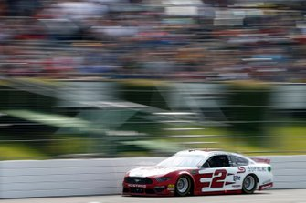 Brad Keselowski, Team Penske, Ford Mustang Wabash National