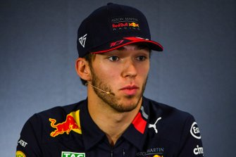 Pierre Gasly, Red Bull Racing in Press Conference