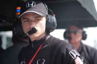 Colton Herta, Harding Steinbrenner Racing Honda, George Steinbrenner