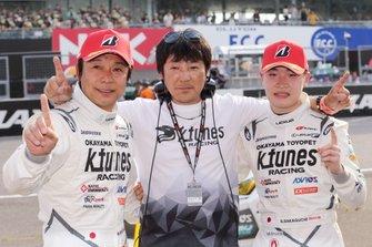 GT300 race winners #96 K-Tunes Racing LM Corsa Lexus RC F GT3: Sena Sakaguchi, Morio Nitta