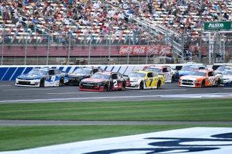 Noah Gragson, JR Motorsports, Chevrolet Camaro Cessna and Tyler Reddick, Richard Childress Racing, Chevrolet Camaro TAME the BEAST