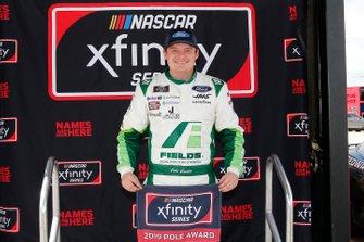 Pole Award winner Cole Custer, Stewart-Haas Racing, Ford Mustang FIELDS