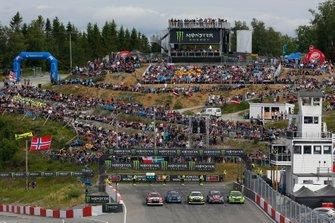Start der Rallycross-WM 2019 in Hell