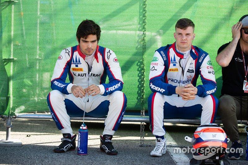 Pedro Piquet, Trident and Niko Kari, Trident