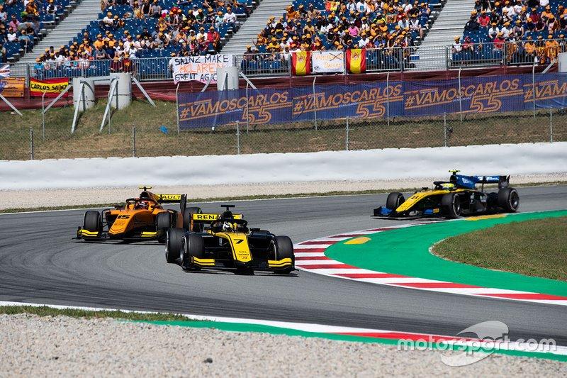 Guanyu Zhou, Uni Virtuosi Racing, Jack Aitken, Campos Racing