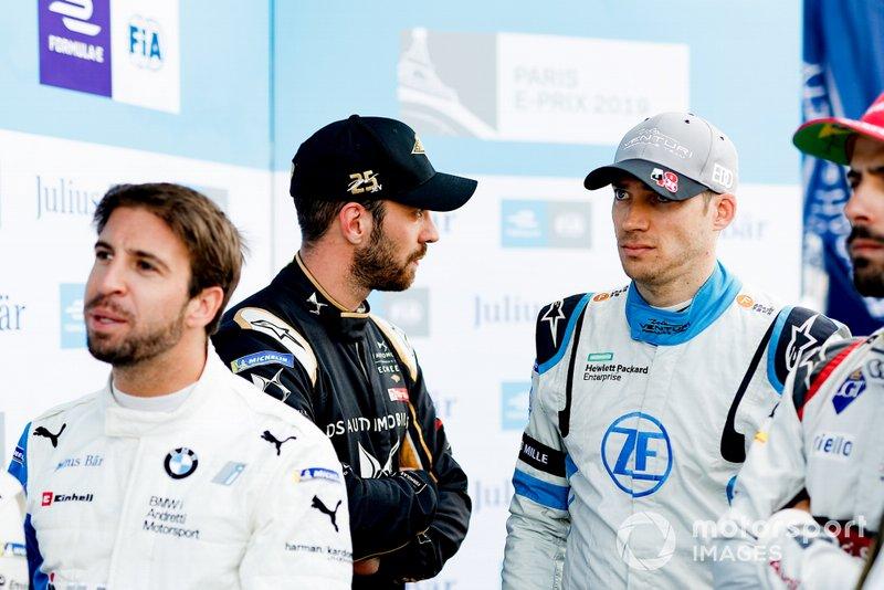 Antonio Felix da Costa, BMW I Andretti Motorsports, Jean-Eric Vergne, DS TECHEETAH, Edoardo Mortara Venturi Formula E