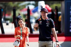 Max Verstappen, Red Bull Racing in the paddock