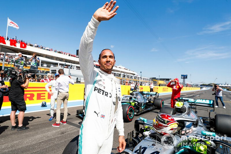 French GP: Lewis Hamilton, Mercedes