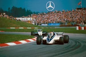 Nelson Piquet, Brabham BT50; Keke Rosberg, Williams FW08
