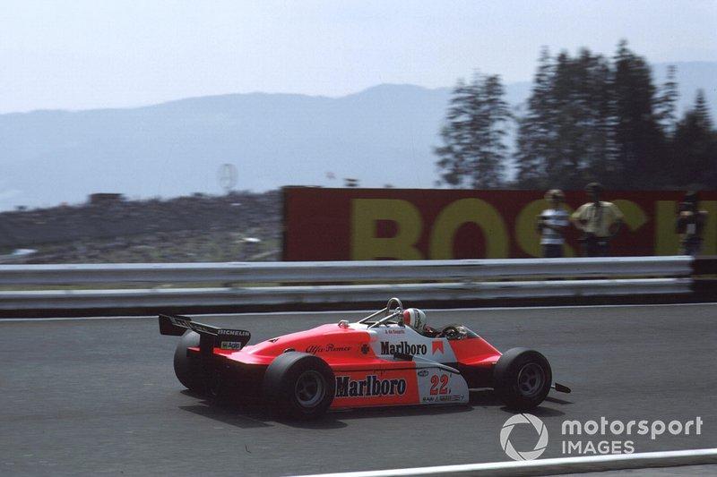 Bruno Giacomelli, Alfa Romeo 182