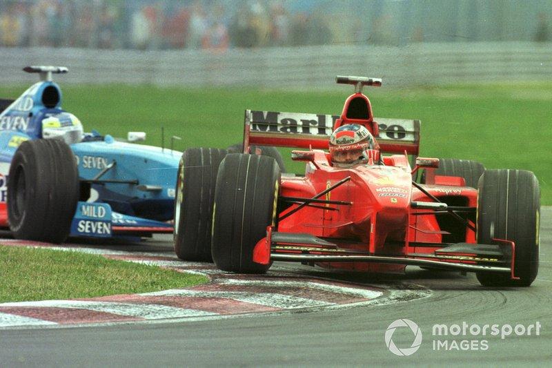 1998年:ミハエル・シューマッハー(フェラーリ)