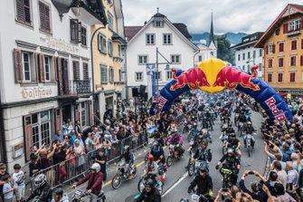 Red Bull Alpen Brevet, départ