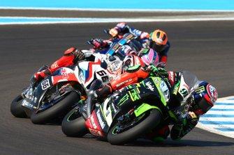 Leon Haslam, Kawasaki Racing and Tom Sykes, BMW Motorrad WorldSBK Team