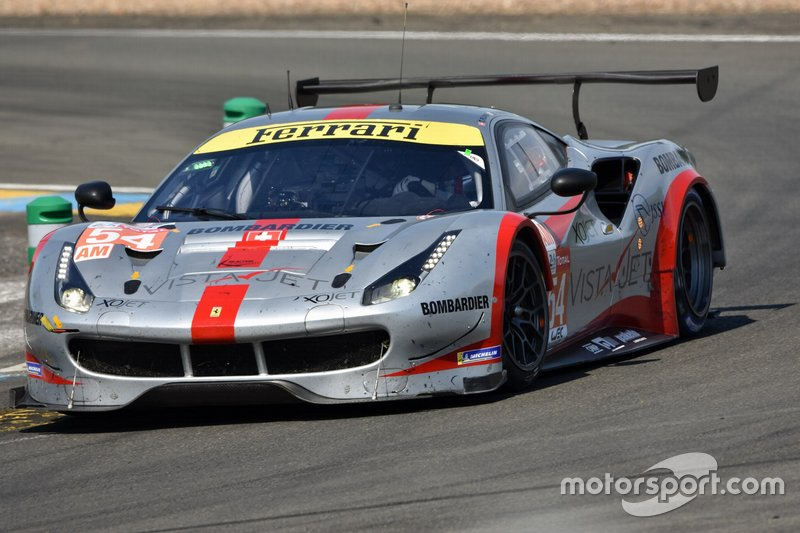 GTE-Am: #54 Spirit of Race, Ferrari 488 GTE