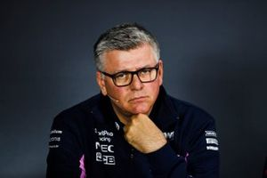Otmar Szafnauer, Team Principal and CEO, Racing Point In the Press Conference