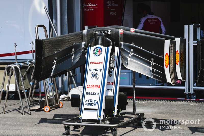 Front Wing of Alfa Romeo Racing C38