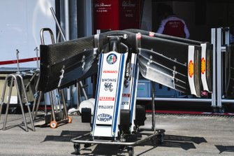 Front Wing of Alfa Romeo Racing C38