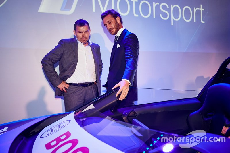 "Unveil of the BMW i8 Roadster Safety Cars at ""Yacht Club de Monaco"" with Robert Irlinger, Pierre Casiraghi"