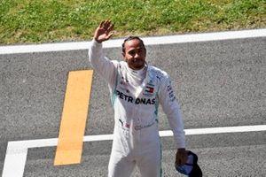 Lewis Hamilton, Mercedes AMG F1, after Qualifying