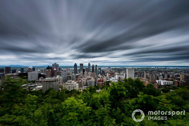 Une vue de Montréal en 2016