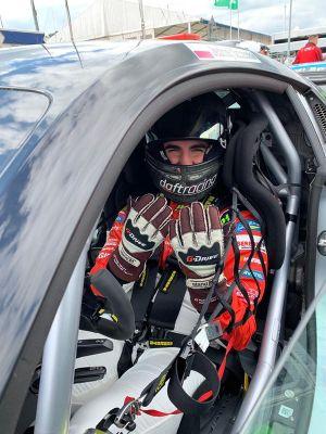 Jędrzej Szcześniak, Audi R8 LMS GT4 Audi R8 LMS Cup Misano, Practice 1