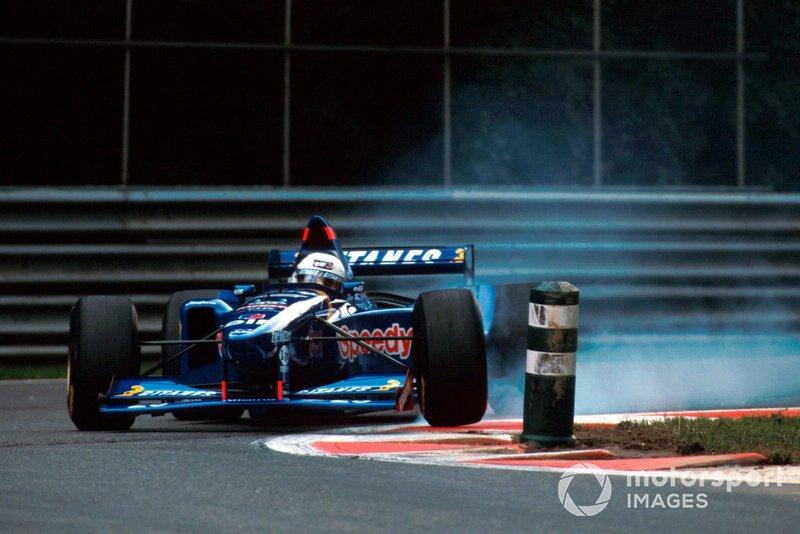 Verbremser: Martin Brundle, LigierJS41