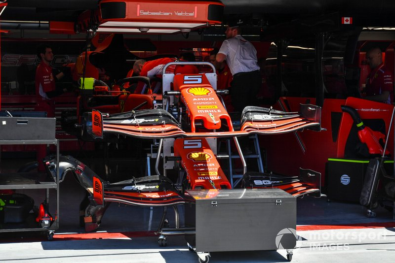 Ala frontale della Ferrari SF90