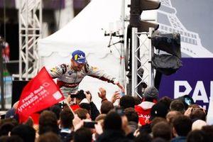 Podio: tercer lugar Daniel Abt, Audi Sport ABT Schaeffler