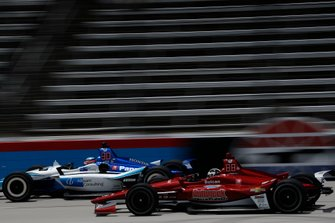 Takuma Sato, Rahal Letterman Lanigan Racing Honda, Ed Carpenter, Ed Carpenter Racing Chevrolet