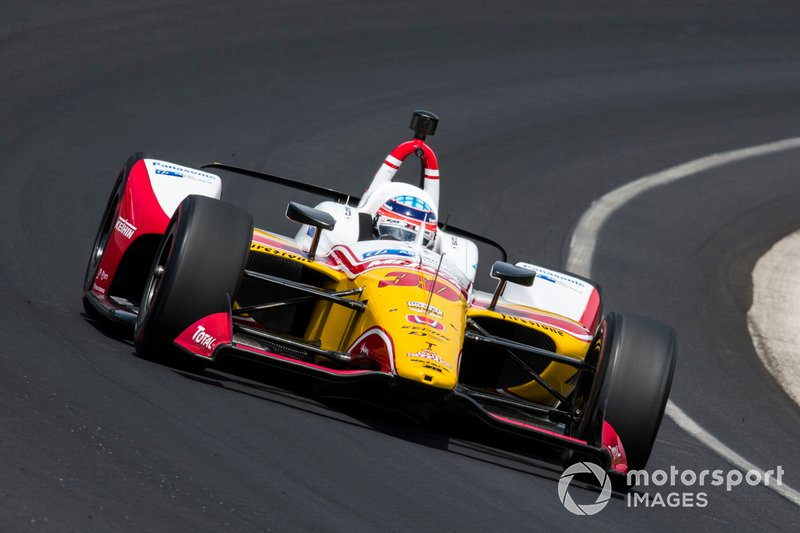 14º: #30 Takuma Sato, Mi-Jack / Panasonic, Rahal Letterman Lanigan Racing Honda: 228.300 mph