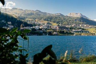 St Moritz, vue générale