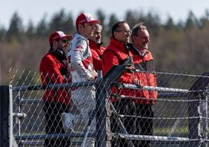 Mike Rockenfeller, Audi Sport Team Phoenix, Jamie Green, Audi Sport Team Rosberg, Dieter Gass, Head of DTM Audi Sport, Nicola Palarchi, Erich Baumgärtner