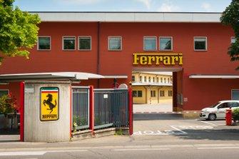 Ferrari-Fabrik in Maranello