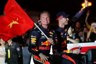 David Coulthard and Jake Dennis