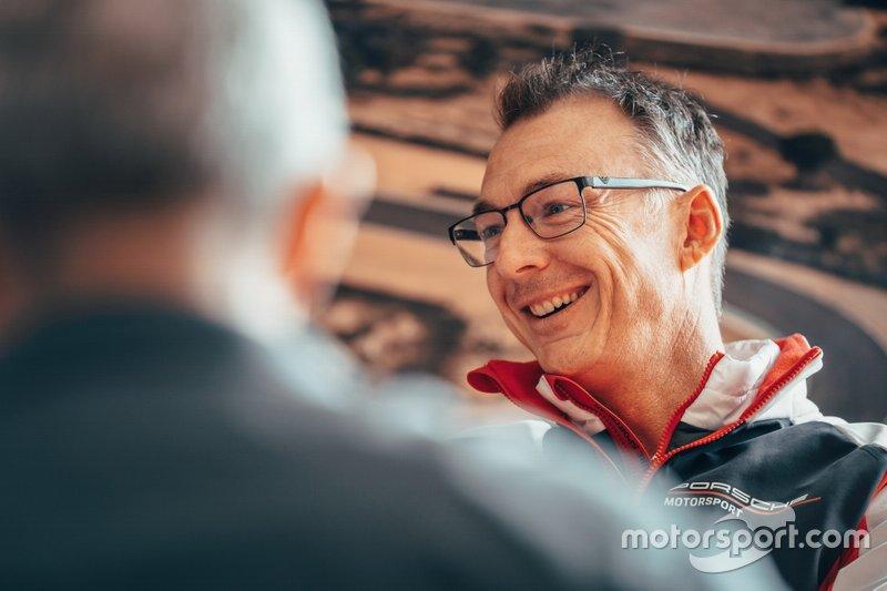 Руководитель команды Porsche Formula E Амиэль Линдсей