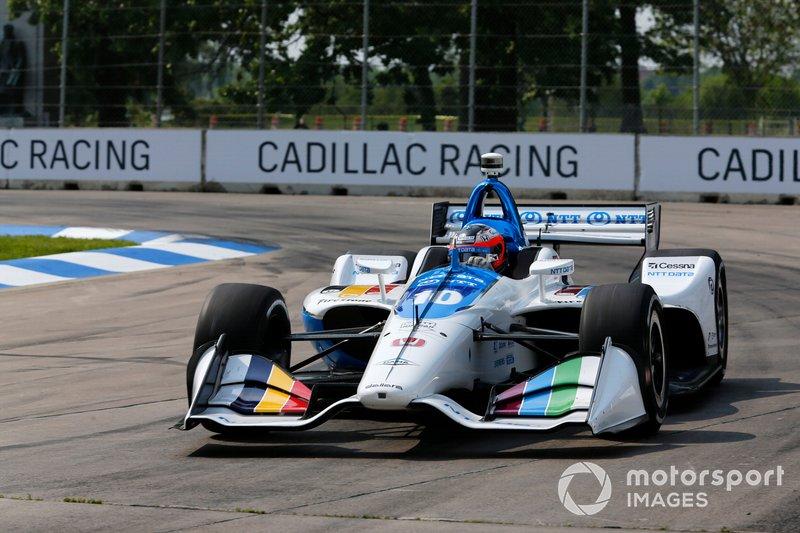 4. Felix Rosenqvist, Chip Ganassi Racing Honda